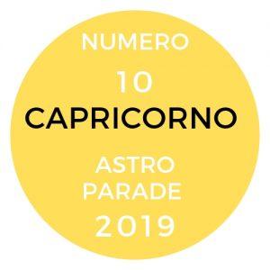 astroparade capricorno 2019