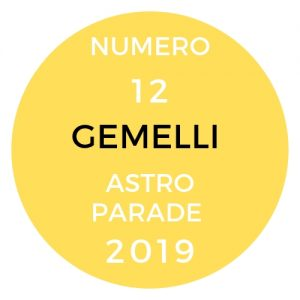 astroparade 19 gemelli