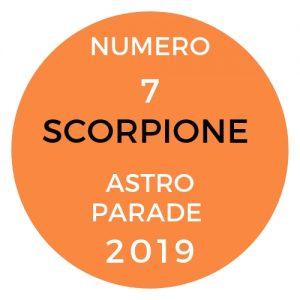 astroparade scorpione 2019