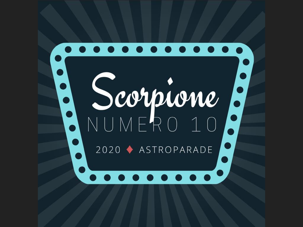oroscopo scorpione 20