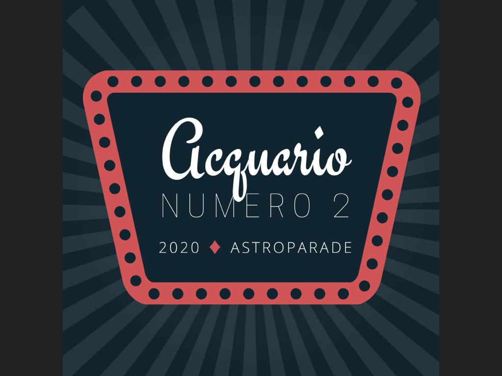 ASTROPARADE 2020 - podio