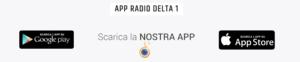 scarica l'app di radiodelta1